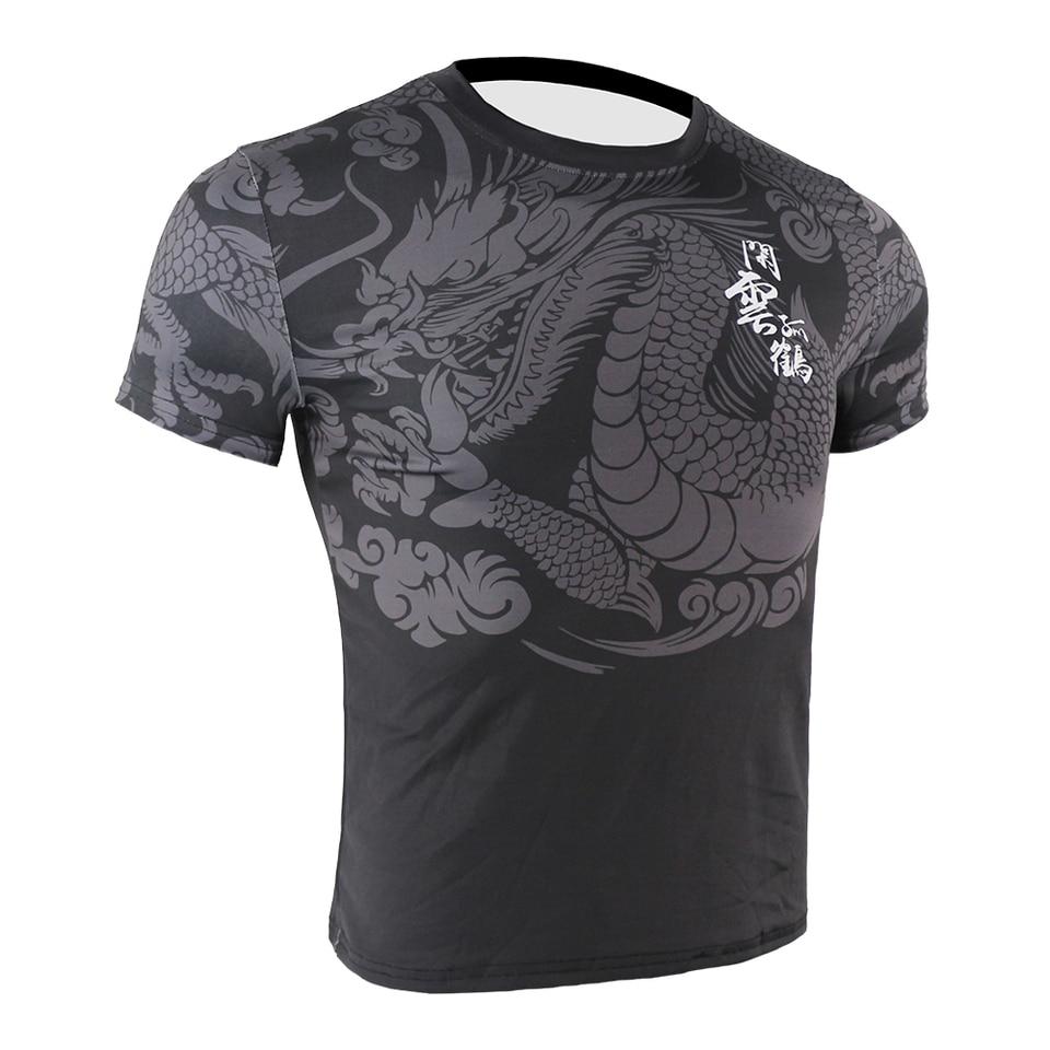 CHINESE DRAGON MMA muay thai boxing xmas birthday gift ideas boys girls T SHIRT