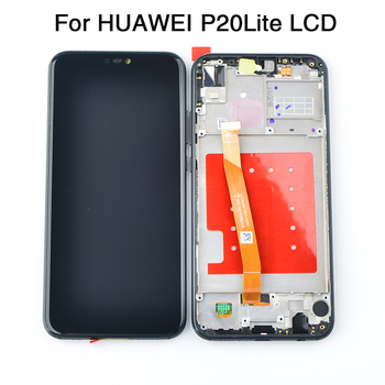 For Huawei P20 Lite ANE-LX1 ANE-LX3 LCD Display Touch Screen Digitizer Assembly Replacement For P20Lite Nova 3E 5.84 Screen for huawei p20 lite ane lx1 ane lx3 lcd display touch screen digitizer assembly replacement for p20lite nova 3e 5 84 screen par
