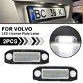 2 шт. светодиодный номерной знак свет лампы 12V Белый для SMD стайлинга автомобиля лампа для Volvo S80 XC90 S40 V60 XC60 S60 V70 XC70 C70 V50