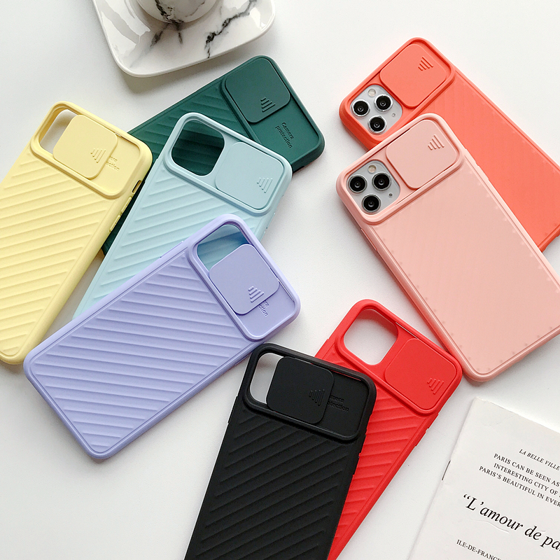 Camera Lens Protection Phone Cases For iPhone 11 Pro MAX Soft Candy TPU Cover Case For iPhone 8 7 6 6S Plus X XS Max XR 11pro 6