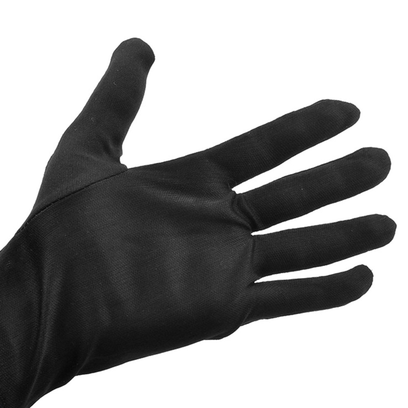 Lightness Comfortable Black Polyester Nylon Work Safety Gloves, Safety Gloves Workplace Safety Supplies