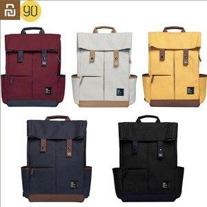 Image 1 - Youpin Urevo / 90fun College School Leisure Backpack 15.6 Inch Waterproof Laptop Bag Rucksack Outdoor Travel For Men Women