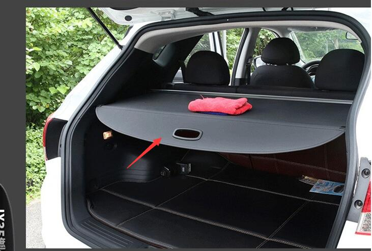 Car Rear Trunk Security Shield Cargo Cover ForHyundai Ix35 2010-2018 High Qualit Auto Accessories