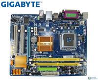 Gigabyte GA G31M ES2C original desktop placa mãe lga 775 ddr2 4 gb vga g31 usado placa mãe Placas-mães     -