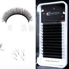 Y Shape Eyelashes Extensions Double Tip False Eyelash Natural Soft Easily Grafting Style Volume Eye Lashes Faux Mink Lash