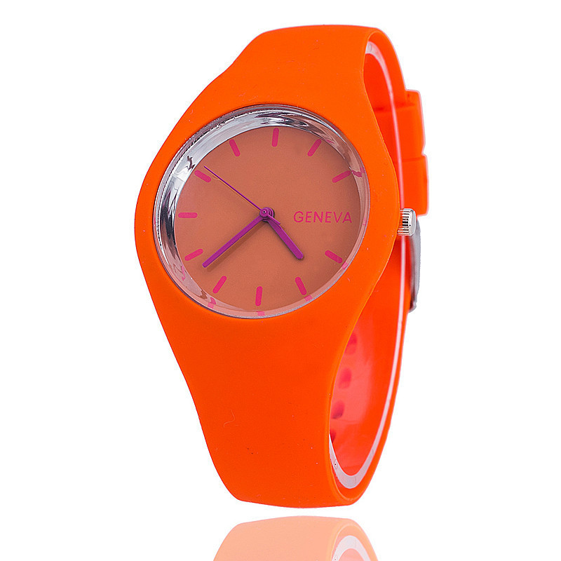 Watches Sport Quartz Soft-Silicone Women Unisex for School-Boys And Girls Sweet Casual