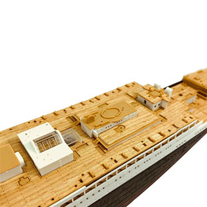 Image 3 - Wooden Deck for Academy 14215 1/400 Scale RMS Titanic CY350044 DIY Model