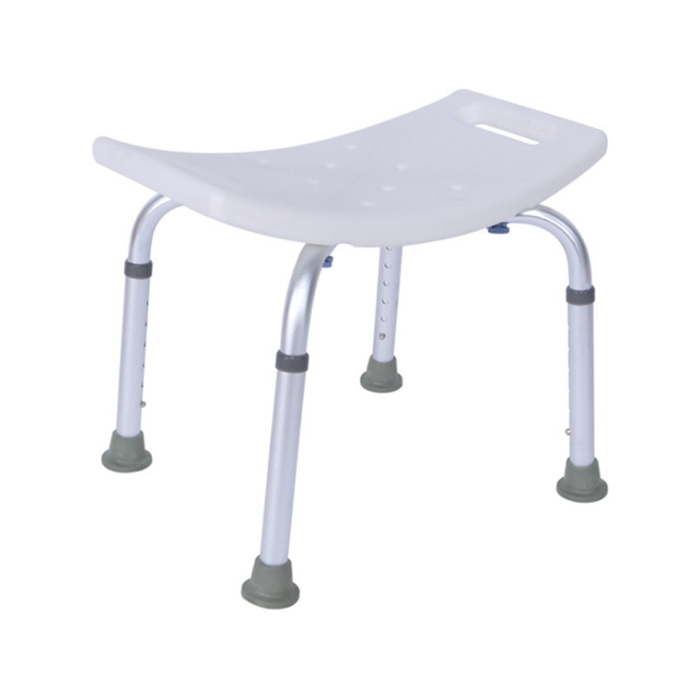 Aid Seat Without Back Chair Height Adjustable Non Slip Toilet Seat Disabled Home Adult Elderly Pregnancy Kids Bath Shower Stool 3