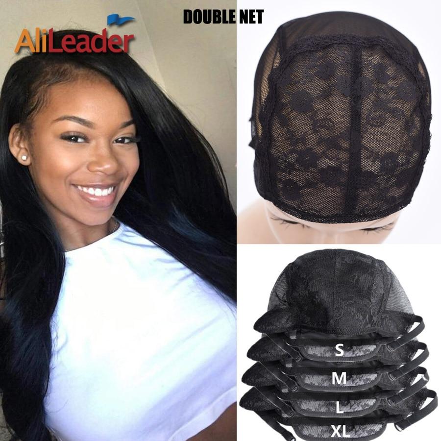 Alileader, Регулируемые парики, шапочки небольшой/большой/очень большой Нижняя крышка Черный Инструменты для завивки волос инструменты для пар...