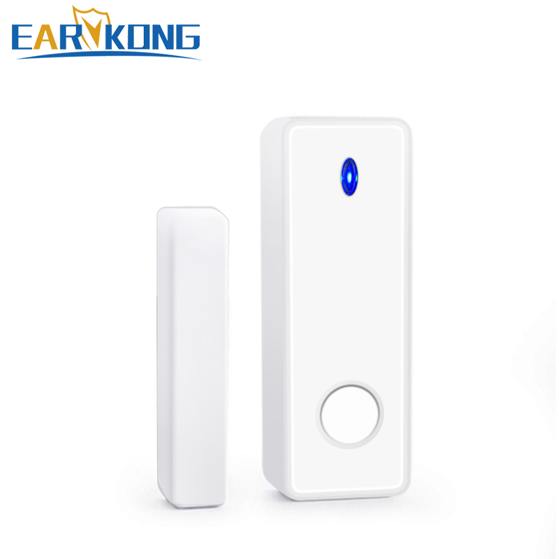 433MHz Wireless Intelligent Window Door Open / Closed Detector Door Gap Window Open Alarm  For G4 / W123 Wifi GSM Alarm System