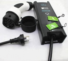 цена на 10A AU plug level 2 electric car charger j1772 ev charger level 2 Zencar adjustable evse