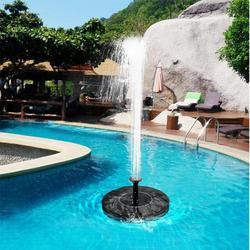 Солнечные садовые фонтаны 7 в солнечный садовый фонтанный насос водопады мощность Солнечный птичий фонтан мощность ed водяной насос птичий ...