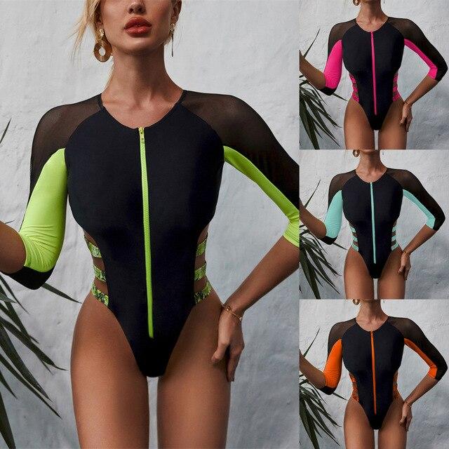 Long Sleeve Bikini Set