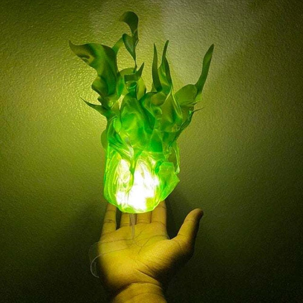 halloween decoracao casa luminosa flutuante fireball 04