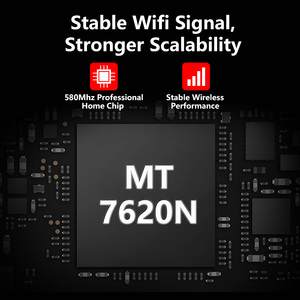 Image 4 - WE3826 Omni השני הקושחה אלחוטי WiFi נתב עבור USB 3G 4G מודם omni 2 4 אנטנות 300Mbps 4 Anttenas אנגלית הקושחה