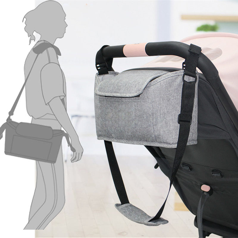 Stroller Bag Multi Usage Stroller Organizer Baby Bag Roomy Hooking Stroller Diape Bag Baby Mummy Backpack Stroller Accessories|Strollers Accessories|   - AliExpress