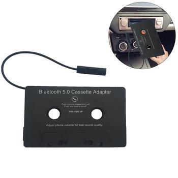 Uniwersalny samochód konwerter Bluetooth taśma MP3 SBC Stereo Audio Bluetooth kaseta do Aux Adapter do smartfona kaseta Adapter tanie i dobre opinie Ai CAR FUN Bluetooth Audio Cassette as describe Magnetofon Angielski 10x6 4x0 9cm 3 3-4 2V Black support 4 0 + EDR tape player