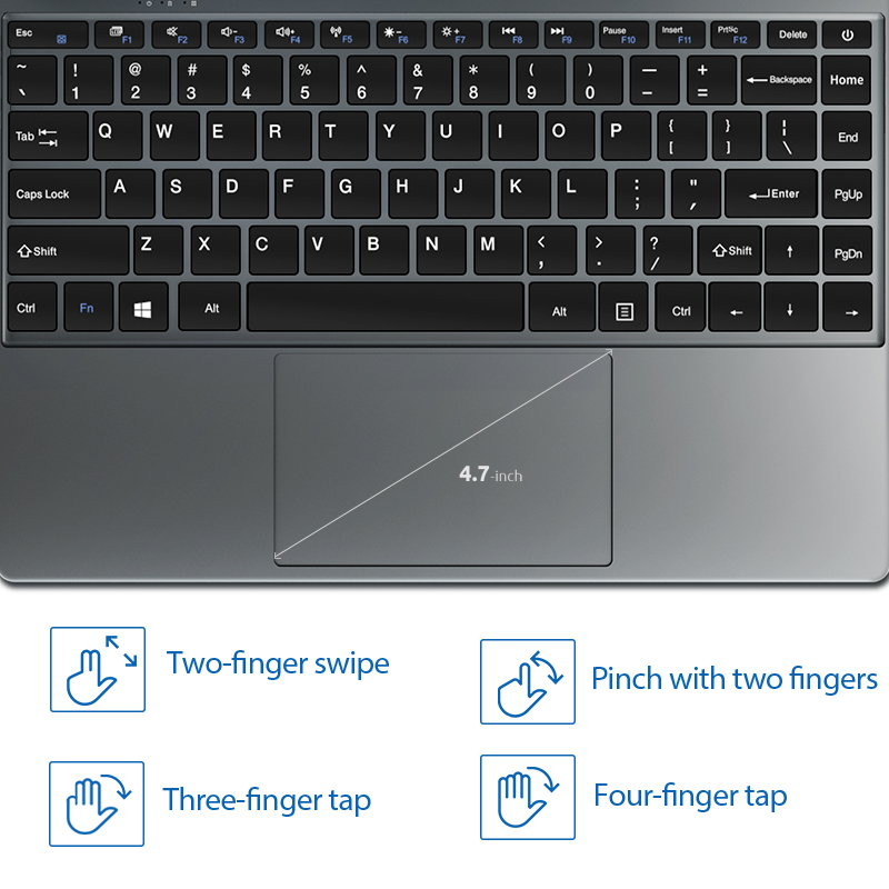 NEW ARRIVAL BMAX S13A 13.3 inch Intel Laptop window10 Notebook 8GB LPDDR4 128GB SSD 1920*1080 IPS Intel 3350 Laptops-2