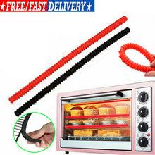 Протектор для полки духовки, силиконовая стойка для духовки, термостойкая защита от ожогов 36 см
