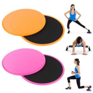Gliding Discs Core Sliders Dual Sided Fitness Home Gym Exercise Workouts Training Slimming Abdominal Slide Pad