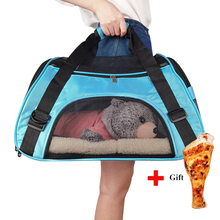 Portable Dog Cat Carrier Bag Soft-sided Pet Puppy Travel Bags Breathable Mesh Small Pet Chihuahua Carrier Outgoing Pets Handbag