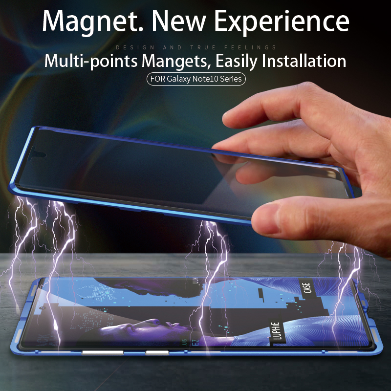 Luphie Magnetic Case For Samsung Note 10 Plus (6)