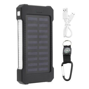 цена на 6000mAh Dual USB Compact Portable Solar Power Bank Battery Charger Mobile Phones External Battery Charger