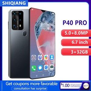 SOYES P40 Pro Мобильный телефон Android умной разблокировки Face ID 6,7 дюймов, 3 Гб оперативной памяти, Оперативная память 32GB Встроенная память 2 сим-карт...