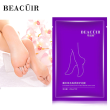 BEACUIR Foot Mask Peeling Renewal Pedicure Exfoliating Remove Dead Skin Smooth Socks Care for