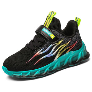 Image 2 - Kids Running Shoes Boys Basket Sneakers Men Sports Shoes For Girls Breathable Trainers Children Walking Jogging Hombre Footwear