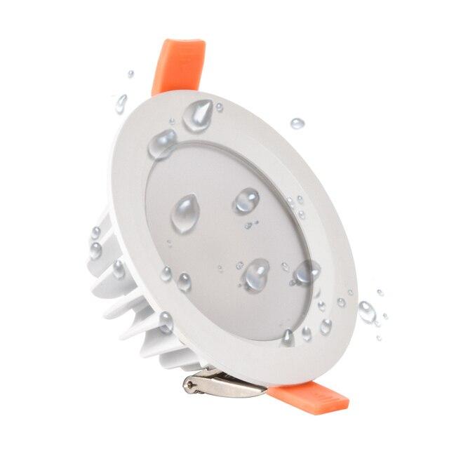 품질 방수 IP65 LED 통 AC85 220V 7W 9W LED 램프 Recessed LED 스포트 라이트 욕실 주방에 대 한