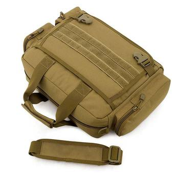 NANCY TINO Military Handbag 14inch Laptop Tactical Bags Camouflage Army Molle System Bag Ffor Camping Hiking Travel Outdoor 5