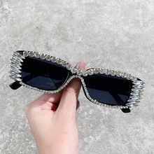 Брендовые дизайнерские роскошные солнцезащитные очки Женские