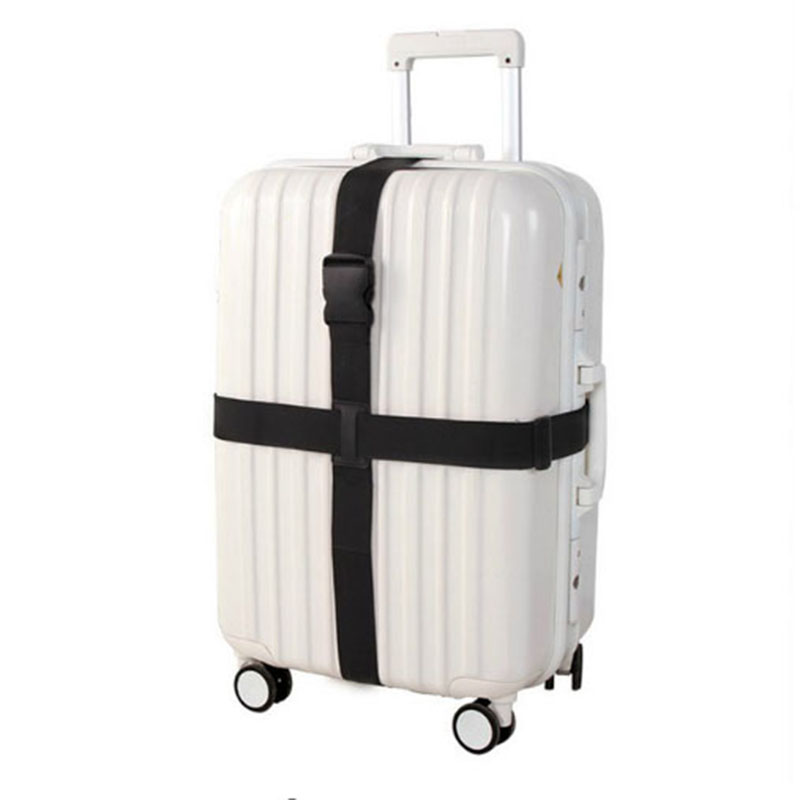 Adjustable Suitcase Cross Straps Trolley Luggage Nylon Packing Belt Travel Baggage Packing Strap Travel Accessorie