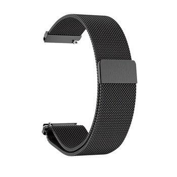 Milanese Strap for Fossil Gen 4 Q Venture HR / Gen 3 Q Venture Smartwatch 18mm Metal wrist band for LG watch style steel band