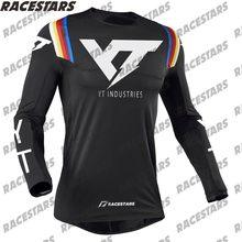 Yt indústrias mtb camisa enduro motocross jérsei de montanha downhill dh bicicleta wear ciclismo jérsei maillot hombre mx
