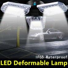 E27 LED Lamp 220V Bulb 60W 80W 100W Lampara E26 Lighting Garage Light 110V Deformable For Workshop Warehouse 2835