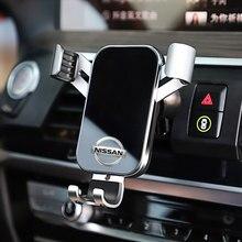 Support de téléphone de voiture universel pour Nissan Qashqai Juke x-trail Tiida Teana Almera Skyline, 1 pièces