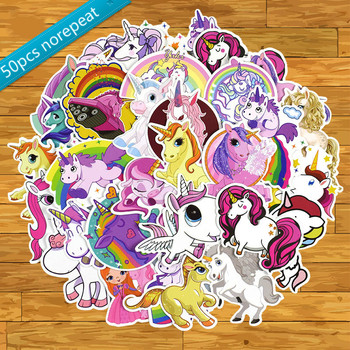 50pcs pack Unicorn stickers for children kawaii suitcase guitar luggage skateboard bicycle waterproof pvc Laptop girl sticker 46 pcs set the office funny stickers waterproof stickers for suitcase luggage laptop diy sticker pvc skateboard sticker g0172