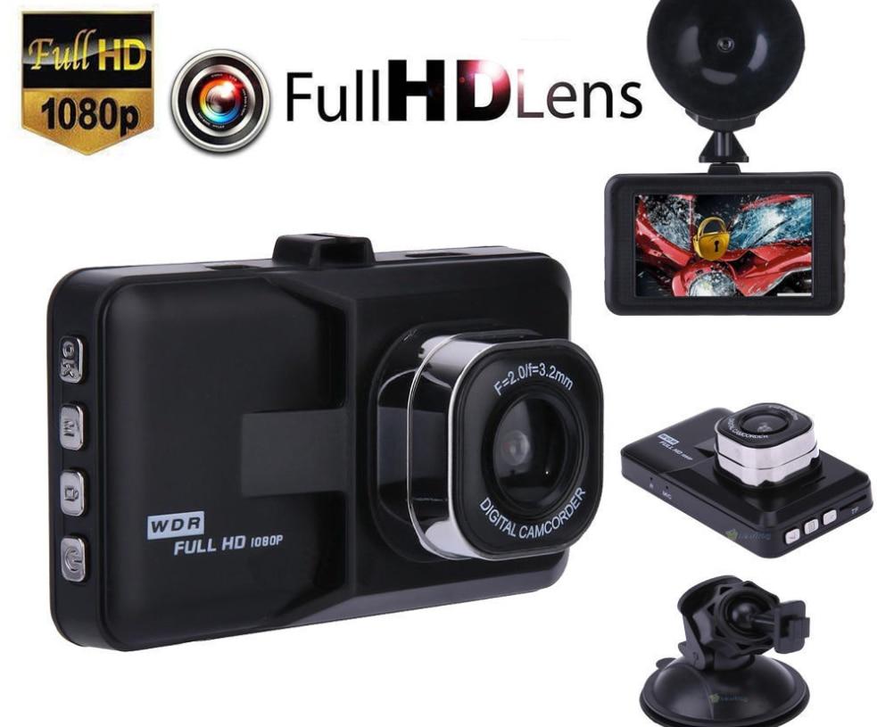 "3.0/"" Vehicle 1080P Car Dashboard DVR Camera Video Recorder Dash Cam GPS"