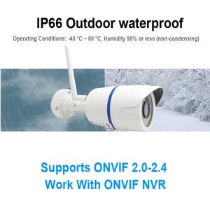 Image 5 - JIENUO 5MP Wifi Camera IP 1080P High Definition Outdoor Waterproof Audio Cctv Security Surveillance Wireless Onvif Home Camera