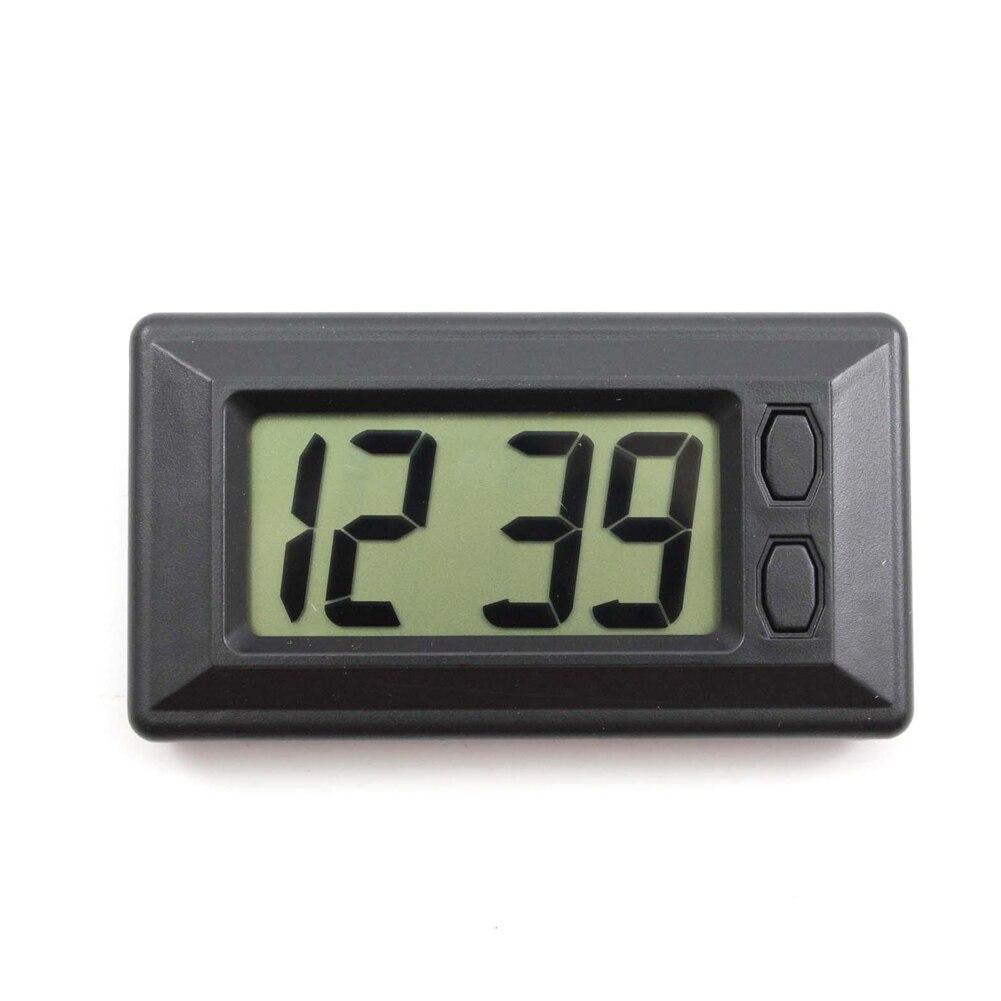2019 Ultra-thin LCD Digital Display Vehicle Car Dashboard Clock with Calendar Cool