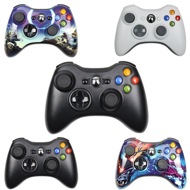 Gamepad para xbox 360 sem fio/com fio controlador para xbox 360 controle sem fio joystick para xbox360 controlador de jogo joypad