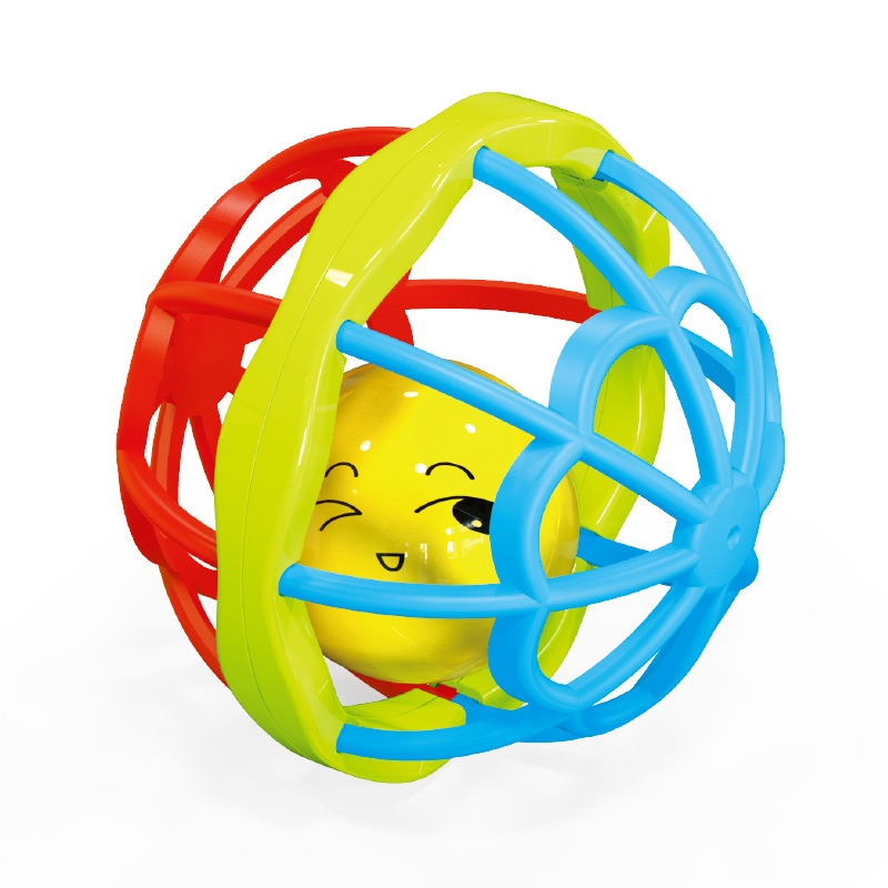 Baby Rattle Mobile Toys 0-12 Speelgoed Months Soft Rubber Gym Roll It Ball Teether Newborn Infant Educational Toys For Baby
