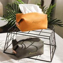 Коробка для салфеток из искусственной кожи универсальная креативная