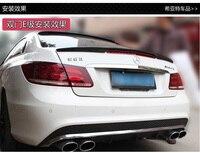 Fit para Mercedes-Benz AMG modificado fibra de carbono asa traseira spoiler traseiro asa