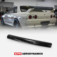 For Nissan R32 Skyline GTR FRD Type FRP Fiber Black Or Grey Unpainted rear Wing spoiler gurney flap Exterior accessories Body ki