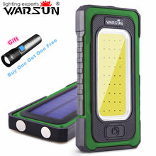 Warsun Y40 Rechargable COB Led Work Light 6000mAh Battery Power Bank With Magnetic Base for Car Repair and Camping