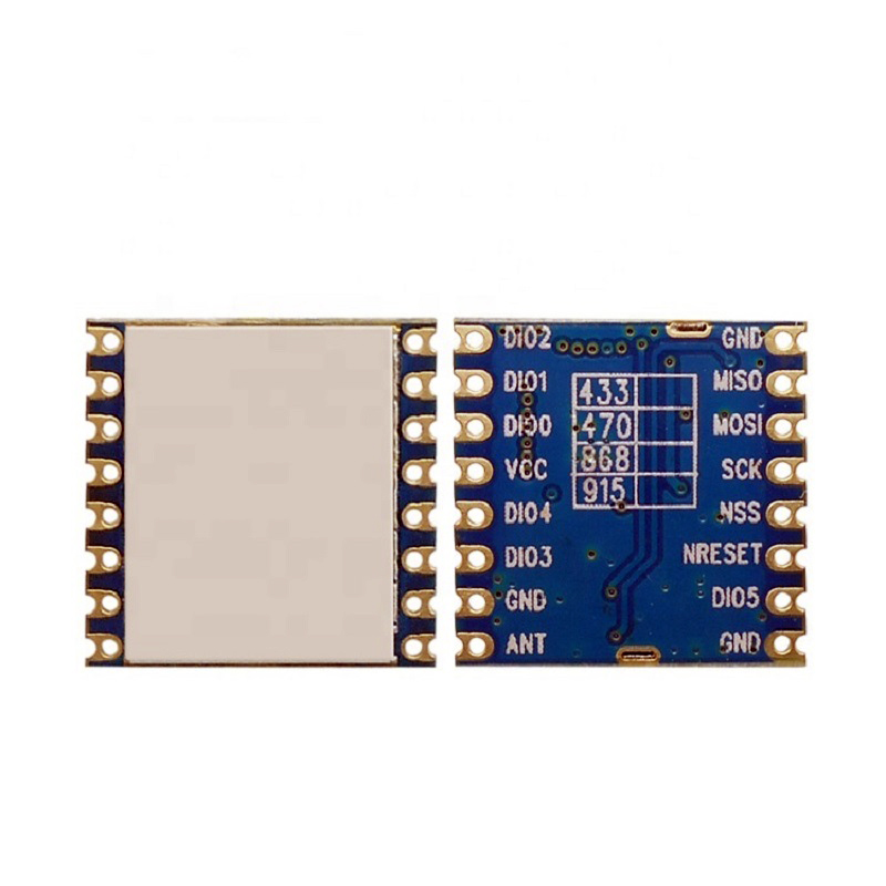 868MHz LoRa1276-C1 100mW SPI 4KM SX1276 Lora Wireless Module Long Range IOT For Smart Home FZ3850