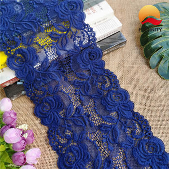 E2007 15cm Bright red latest style of thick lace for clothing edge decoration цена 2017